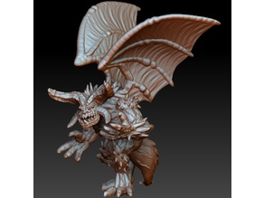 Winged demon