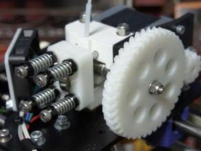 Parametric Herringbone Gear Set for Orca Extruder v10/v10b