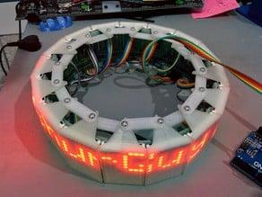 Circular LED Display