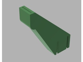 MPSM right angle spool holder adapter