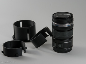 Olympus m.zuiko 12-50mm zoom gear for Nauticam Housing