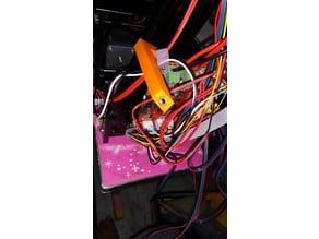 Main board fan cooler bracket