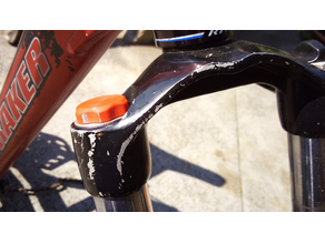 Marzocchi air cap for forks
