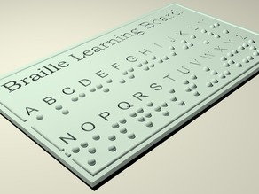 Braille Learning Board V2