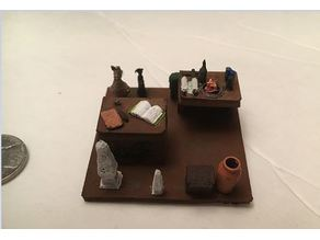 Miniature Egyptian Research Room
