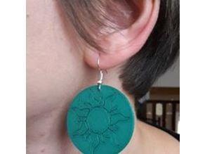 Sun Earrings / boucles d'oreilles Soleil