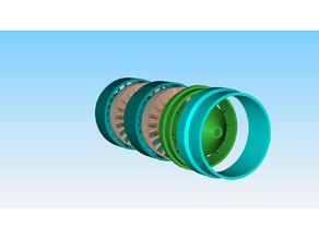 Axial Power Turbine