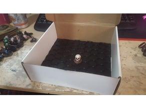 25mm DnD Miniature Filament Box Figure Holder