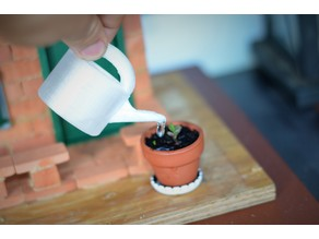 Cute Miniature Watering Can