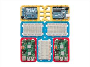 Modular Support (Case) for Arduino and Raspberry Pi - CustoBlocks