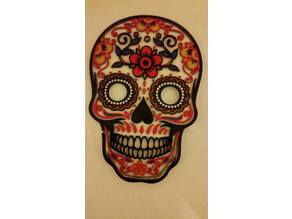 Customizable Day of the Dead Mask