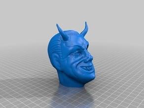 Devil head for Twilight zone fortune vending machine