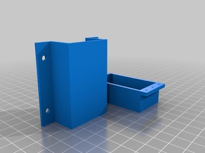 Drawer-under table mount