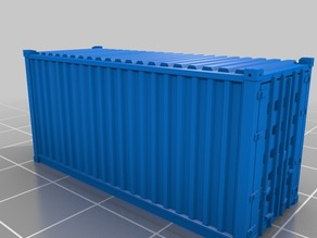20' standard container in 1:160