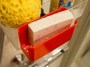 Soap Holder with Hearts