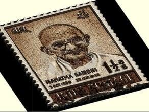 Gandhi Lithophane