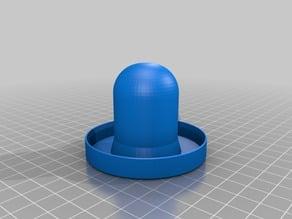 Shuffle puck portable