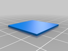 25mm*25mm*1mm test square