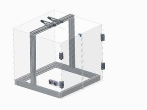 Acrylic box chamber for Gate 1 printer