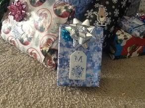 Snowflake Gift Tag : Negative Cut