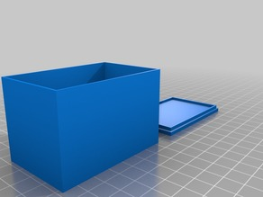 My Customized Rounded Box with Lid (Parametric)