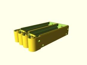 Serial Flexing Battery Holder