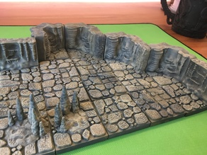 Cavern Tiles 2x2 (Openforge 2.0 compatible) Remix