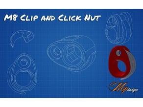 M8 - Clip & Click Nut
