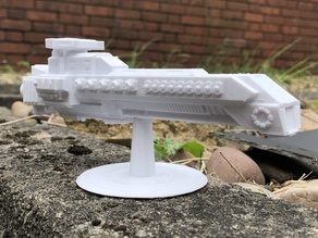 Mantikor Class Cruiser (Star Legions: Spaceship Fleet Battles)