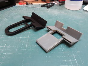 Axial Wraith Front Battery Mount (Redesign)