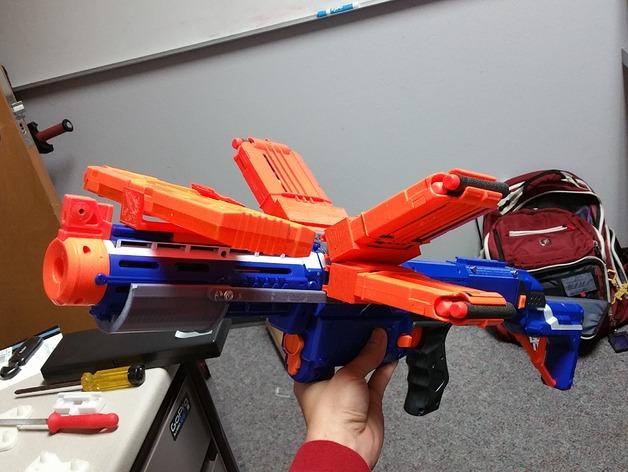 Pump Action Nerf Gun