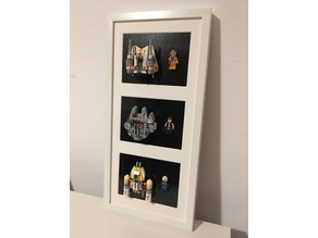 Lego Star Wars Microfighters frame mount