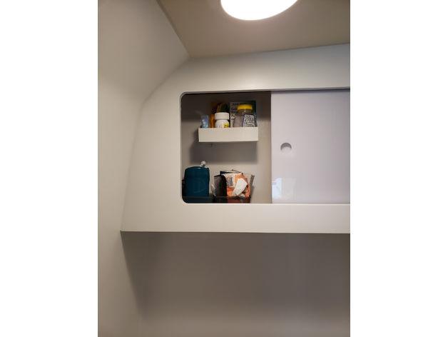 Winnebago Travato Gl Bathroom Shelf By