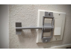Decora wall switch extender (universal L or R extension)
