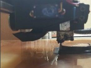 exhaust shroud for Makerfarm i3V