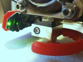 Anet A8 - Logitech C310 Webcam Nozzle Mount