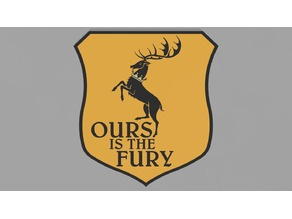 Baratheon sigil - Game of thrones banner