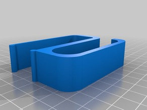 """Customized Cable Holder for 1"""" desk"""