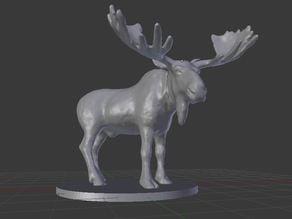 Moose Miniature