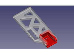 Open RC Truggy Front whishbone reinforced