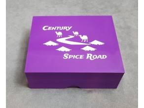 Traveling Spice Box for Century: Spice Road - Sleeved Edition
