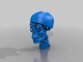 Animatronic Skull