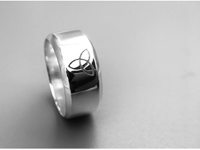 Trinity Mens Ring Size 10