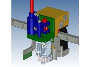 Nimble V1 mounts for the Railcore system