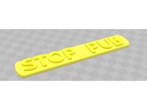 Stop Pub !