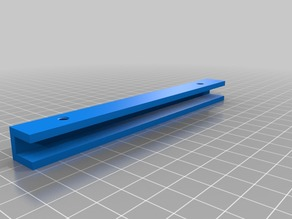 Glass Plate Holder Long for 3mm Plate