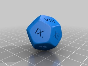 Dice - Dodecahedron (12 faces)