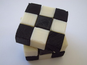 Rubik's cube (fully printable)