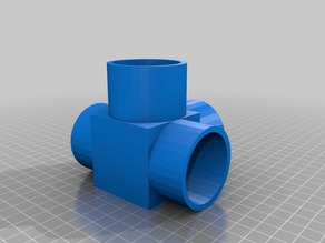 40mm PVC Pipe FPV Tower connector joint (Sleeve style)
