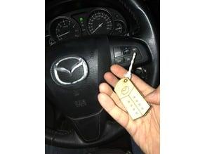 Plywood toy 'Mazda FOB'